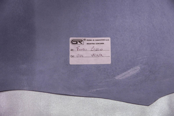 Кожа МРС, светло-голубой металлик (хамелеон), 47 дм2,  Russo di Casandrino S.p.A.-108534