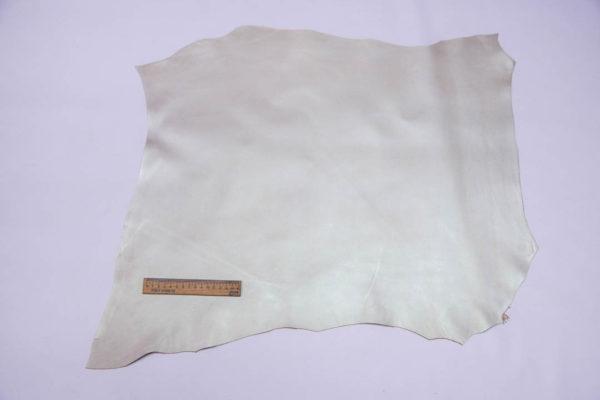 Кожа МРС, бежевый металлик (хамелеон), 36 дм2,  Russo di Casandrino S.p.A.-108540