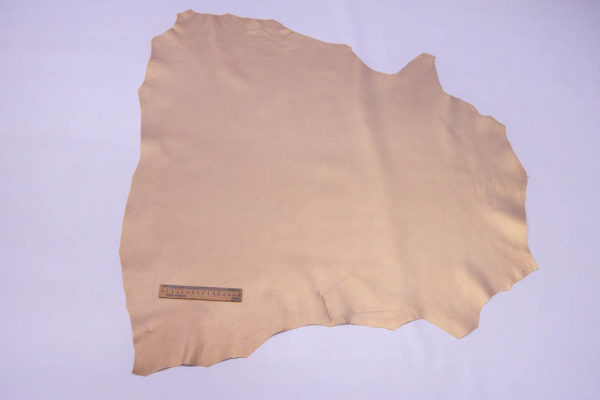 Кожа МРС, бежевый металлик (хамелеон), 53 дм2,  Russo di Casandrino S.p.A.-108543