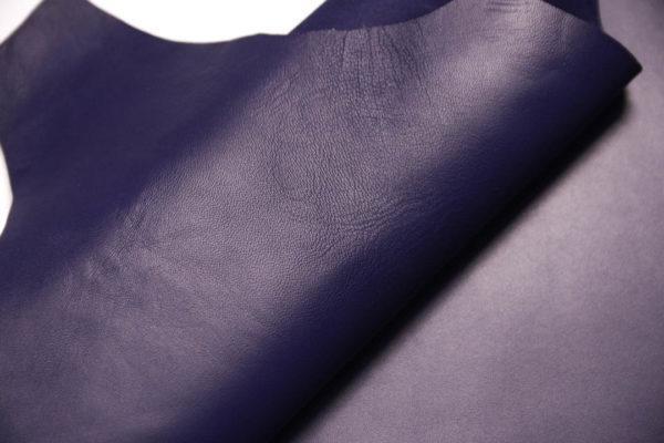 Кожа МРС, синяя, 38 дм2.-108566