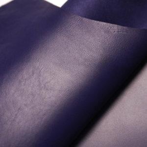 Кожа МРС, синяя, 46 дм2.-108567