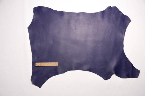 Кожа МРС, синяя, 35 дм2.-108568
