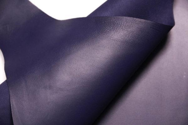 Кожа МРС, синяя, 41 дм2.-108569