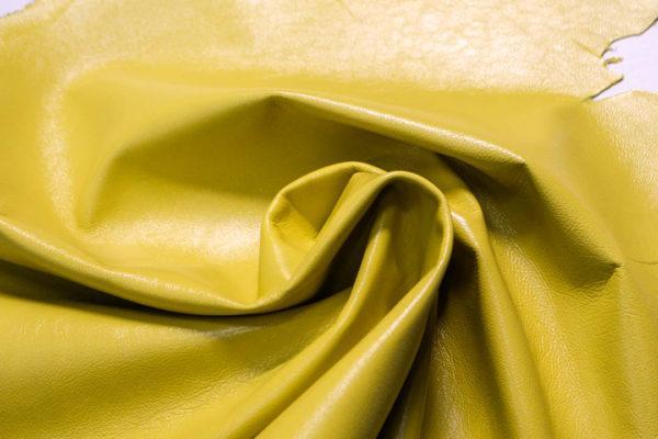 Кожа МРС, лимонная, 45 дм2.-108576