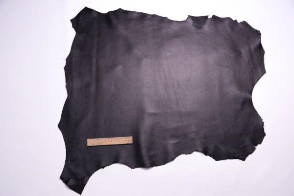 Кожа МРС, чёрная, 43 дм2, Russo di Casandrino S.p.A.-108589