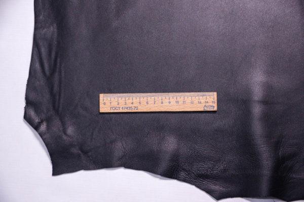 Кожа МРС, чёрная, 53 дм2, Russo di Casandrino S.p.A.-108590