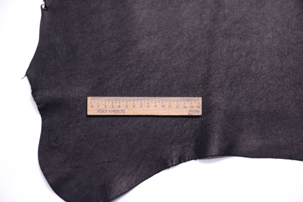 Кожа МРС (метис), чёрная, 49 дм2, Russo di Casandrino S.p.A.-108591