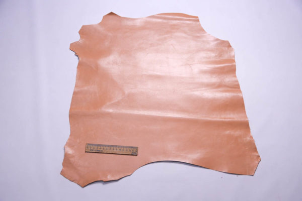 Кожа МРС, персиковая, 29 дм2.-108596