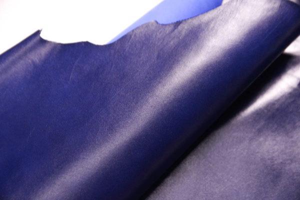Кожа МРС, синяя, 21 дм2.-108597