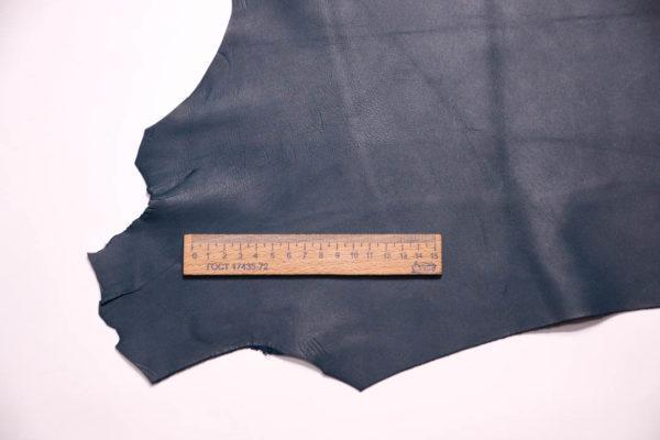 Кожа МРС, бирюзовая, 19 дм2, Russo di Casandrino S.p.A.-108598
