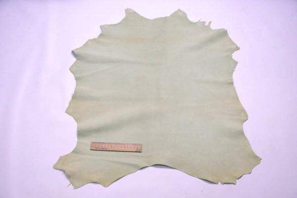 Велюр МРС, бледная мята, 33 дм2, Conceria Gaiera GIOVANNI S.p.A. -108629