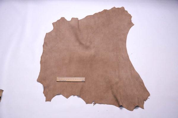 Велюр МРС (коза), какао, 36 дм2, Conceria Gaiera GIOVANNI S.p.A. -108645
