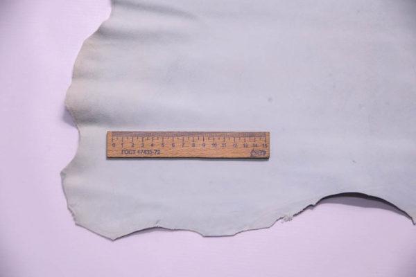 Велюр МРС, серо-голубой, 32 дм2, Russo di Casandrino S.p.A.-108676