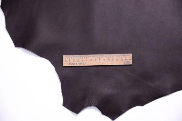 Кожа МРС, тёмно-коричневая, 52 дм2.-108694