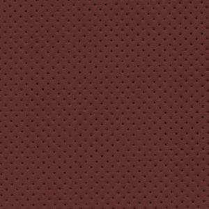 PU гладкая кожа с декоративной перфорацией, Швайцер (Schweitzer), рыже-коричневая - PU006ND