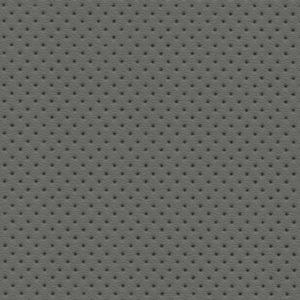 PU гладкая кожа с декоративной перфорацией, Швайцер (Schweitzer), светло-серая - PU005ND
