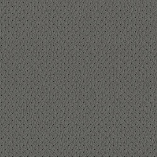 PU фактурная кожа с перфорацией, Швайцер (Schweitzer), светло-серая - PU005BP