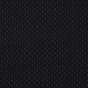 PU фактурная кожа с декоративной перфорацией Швайцер (Schweitzer), чёрная - PU001MD