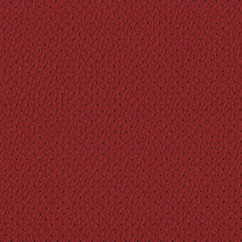 PU фактурная кожа с перфорацией, Швайцер (Schweitzer), красная - PU010BP