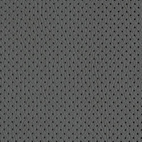PU фактурная кожа с перфорацией, Швайцер (Schweitzer), серая - PU002MP