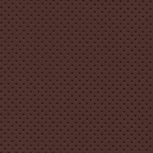 PU гладкая кожа с декоративной перфорацией, Швайцер (Schweitzer), коричневая - PU011ND