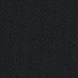 PU фактурная кожа с перфорацией Швайцер (Schweitzer), чёрная - PU001BP