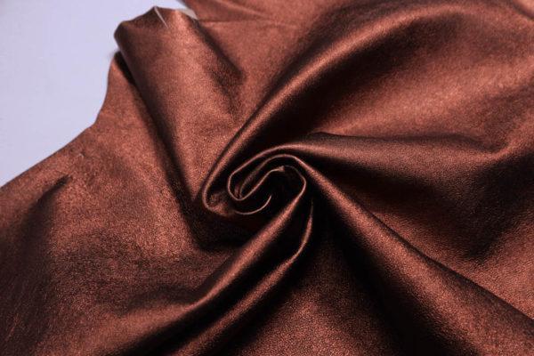 Кожа МРС (метис), медно-коричневый металлик, 37 дм2.-108698