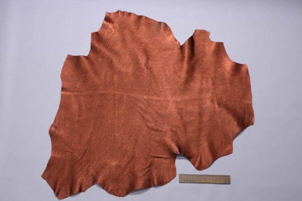 Кожа МРС (метис), медно-коричневый металлик, 35 дм2.-108700
