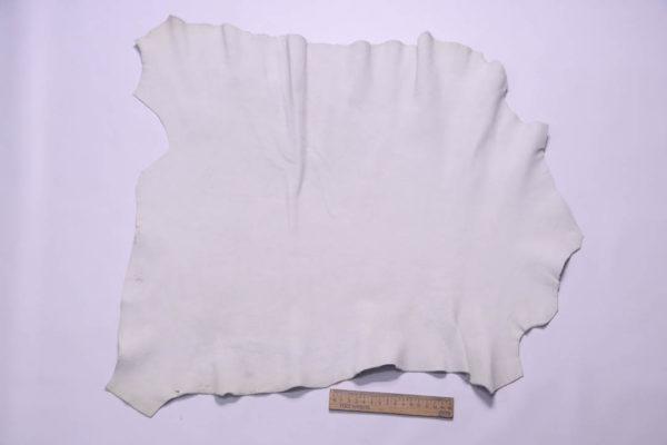 Кожа МРС (лань), грязно-белая, 31 дм2, Conceria Stefania S. p. A.-108703