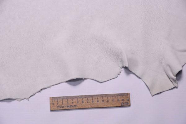 Кожа МРС (лань), грязно-белая, 30 дм2, Conceria Stefania S. p. A.-108705