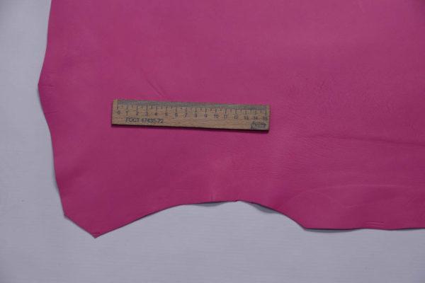 Кожа МРС, розовая фуксия, 52 дм2, Russo di Casandrino S.p.A.-108733