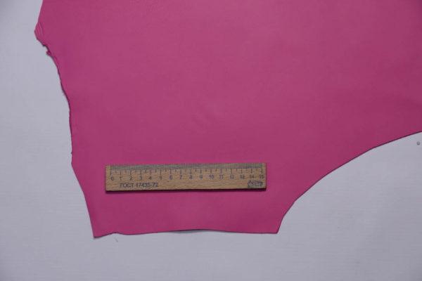 Кожа МРС, розовая фуксия, 30 дм2, Russo di Casandrino S.p.A.-108735