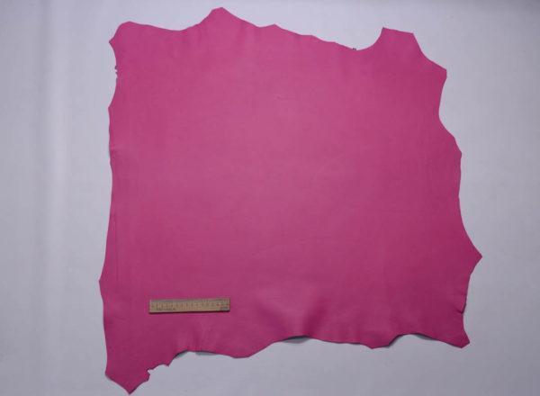 Кожа МРС, розовая фуксия, 56 дм2, Russo di Casandrino S.p.A.-108736
