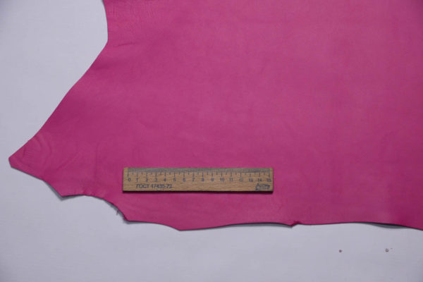 Кожа МРС, розовая фуксия, 35 дм2, Russo di Casandrino S.p.A.-108739