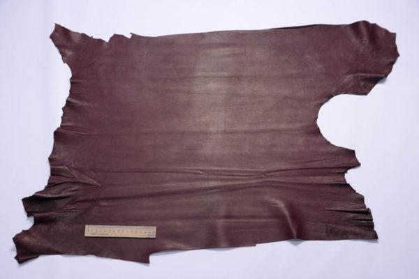 Кожа МРС, бордовая, 43 дм2, Conceria Stefania S.p.A.-108740