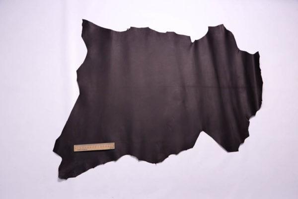 Кожа МРС, чёрный шоколад, 45 дм2, Russo di Casandrino S.p.A.-108748