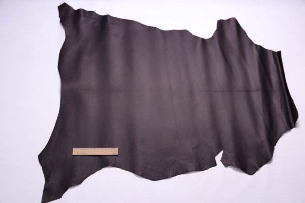 Кожа МРС, чёрный шоколад, 56 дм2, Russo di Casandrino S.p.A.-108749