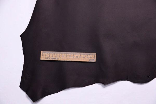 Кожа МРС, чёрный шоколад, 50 дм2, Russo di Casandrino S.p.A.-108750