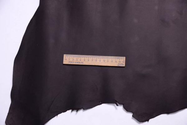 Кожа МРС, чёрный шоколад, 53 дм2, Russo di Casandrino S.p.A.-108751
