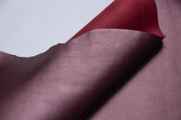 Кожа МРС, бордовый металлик, 48 дм2.-108758