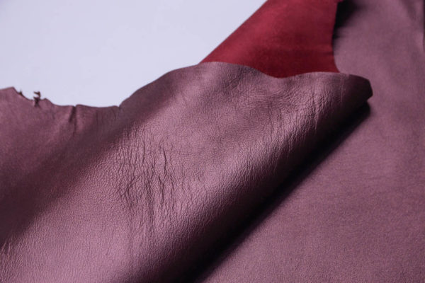 Кожа МРС, бордовый металлик, 40 дм2, Tari S.p.A.-108761