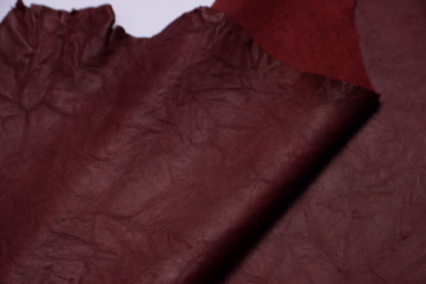 Кожа МРС (жатка), бордовая, 60 дм2.-108767