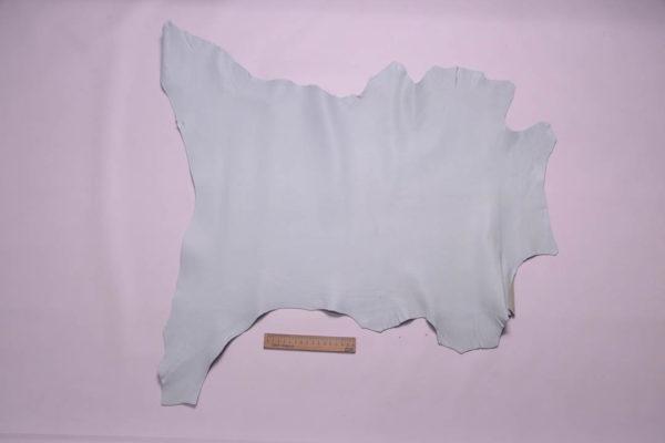 Кожа козы, светло-голубая, 39 дм2, Conceria Martucci Teresa S.R.L.-108793
