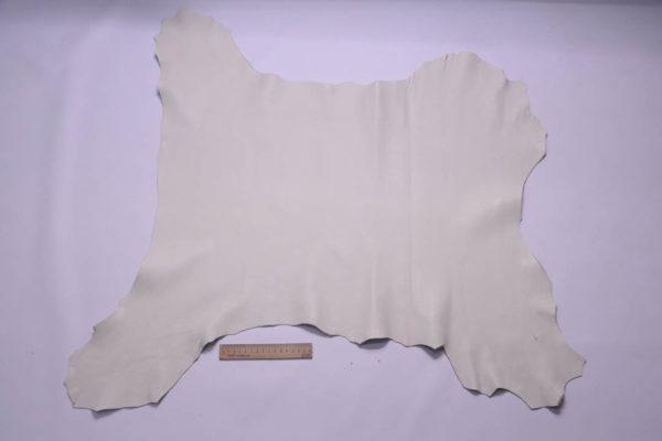 Кожа козы, слоновая кость, 52 дм2, Conceria Martucci Teresa S.R.L.-108799