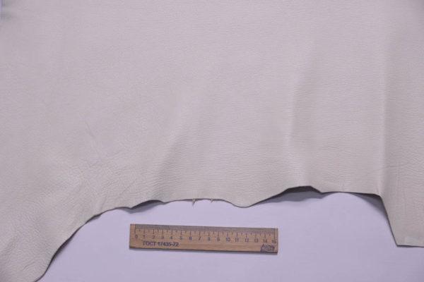 Кожа козы, слоновая кость, 53 дм2, Conceria Martucci Teresa S.R.L.-108801