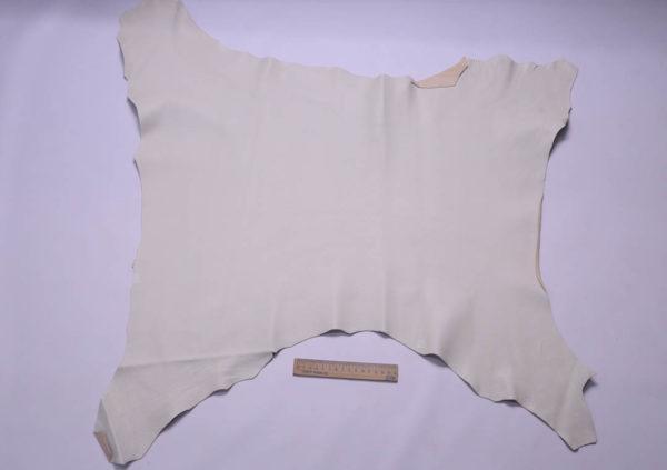 Кожа козы, слоновая кость, 48 дм2, Conceria Martucci Teresa S.R.L.-108803