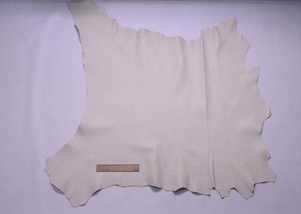 Кожа козы, слоновая кость, 63 дм2, Conceria Martucci Teresa S.R.L.-108806
