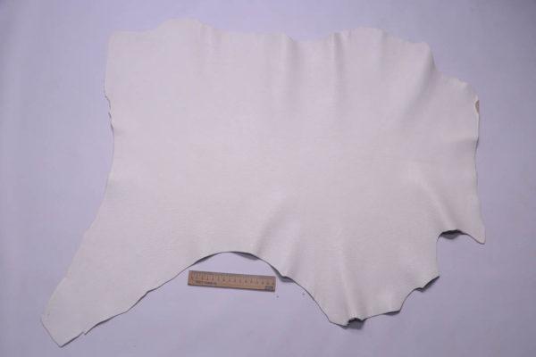 Кожа козы, белая, 42 дм2, Falco Pellami S.p.A.-108809