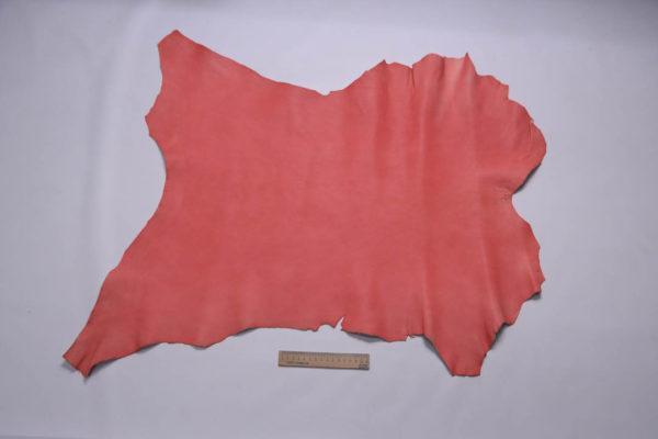Кожа козы, розовая с лёгким мраморным эффектом, 46 дм2, Conceria Gaiera GIOVANNI S.p.A.-108825