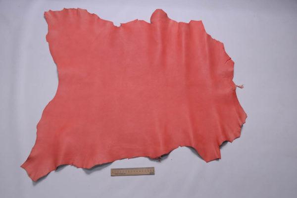 Кожа козы, розовая с лёгким мраморным эффектом, 48 дм2, Conceria Gaiera GIOVANNI S.p.A.-108826